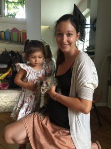 Miskina en confiance dans son nouveau foyer