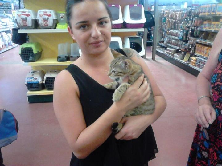 Mirabelle et son adoptante