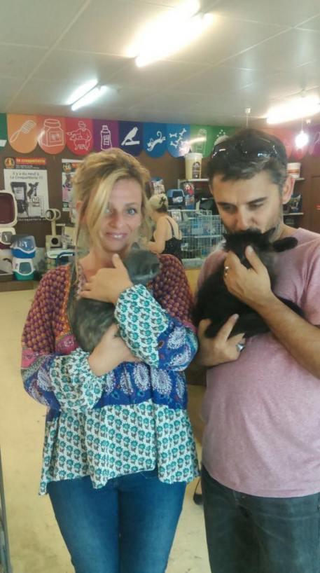 Marilou et Milo et leurs adoptants