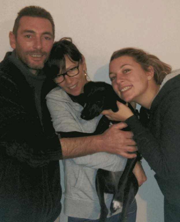 Lia et ses adoptants